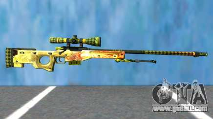 Dragon Lore (Sniper) for GTA San Andreas