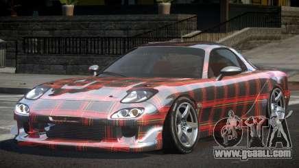 Mazda RX-7 GST Racing PJ4 for GTA 4