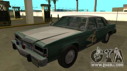 Ford LTD Crown Victoria 1987 New Hampshire SP for GTA San Andreas