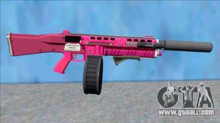 GTA V Vom Feuer Assault Shotgun Pink V13 for GTA San Andreas