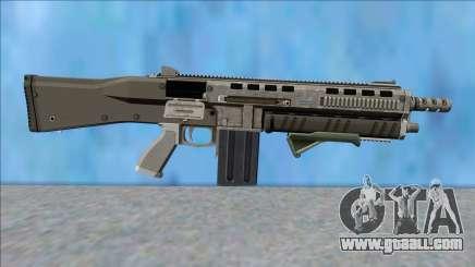 GTA V Vom Feuer Assault Shotgun Platinum V10 for GTA San Andreas