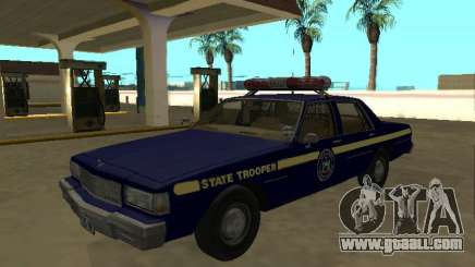 Chevrolet Caprice 1987 New York State Trooper for GTA San Andreas