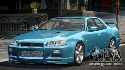 Nissan Skyline R34 SP-R for GTA 4