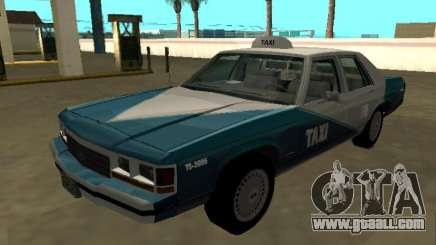 Ford LTD Crown Victoria 1991 Cab.Co California for GTA San Andreas
