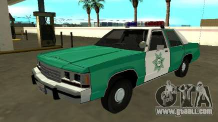 Ford LTD Crown Victoria 1991 San Diego County SF for GTA San Andreas