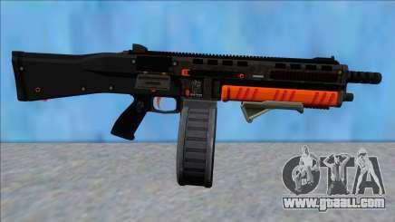 GTA V Vom Feuer Assault Shotgun Orange V9 for GTA San Andreas