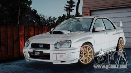 Subaru Impreza WRX STi 2003 for GTA San Andreas