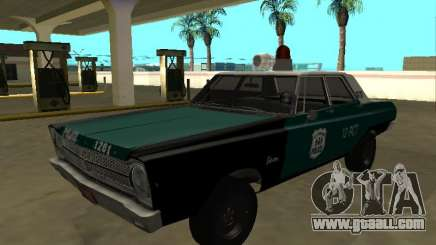 Plymouth Belvedere 4 door 1965 Old NYPD for GTA San Andreas