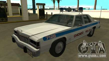 Ford LTD Crown Victoria 1987 Chicago Police Dept for GTA San Andreas