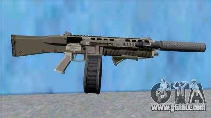 GTA V Vom Feuer Assault Shotgun Platinum V13 for GTA San Andreas