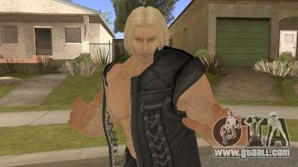 Paul Shortcut Hair with Vendetta Pants V1 for GTA San Andreas