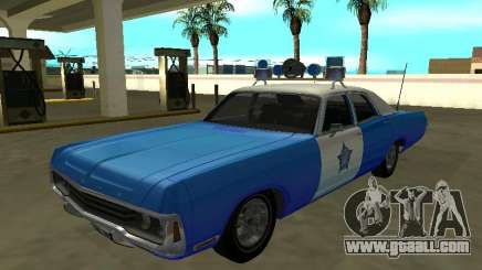 Dodge Polara 1972 Chicago Police Dept for GTA San Andreas