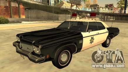 Oldsmobile Delta 88 1973 San Francis Police Dept for GTA San Andreas