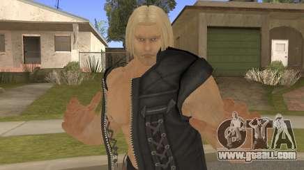 Paul Shortcut Hair with Vendetta Pants V3 for GTA San Andreas
