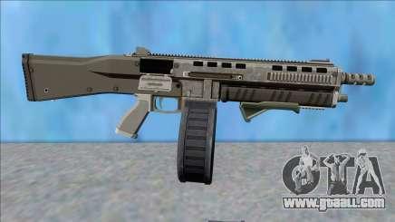 GTA V Vom Feuer Assault Shotgun Platinum V9 for GTA San Andreas