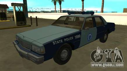 Chevrolet Caprice 1987 Massachusetts S Police for GTA San Andreas