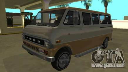 Ford Econoline E-200 1973 Van Youga GTA V for GTA San Andreas