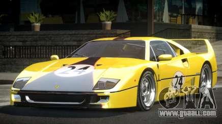 Ferrari F40 80S L7 for GTA 4