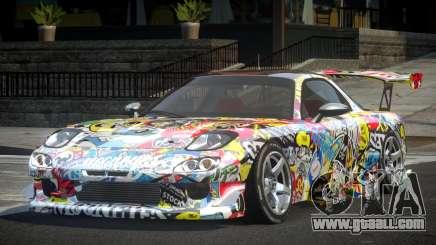Mazda RX-7 GST Racing PJ3 for GTA 4
