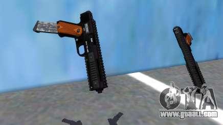 GTA V AP Pistol Extended for GTA San Andreas