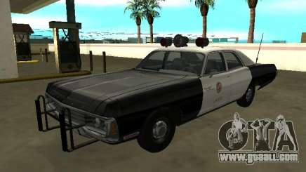 Dodge Polara 1972 Los Angeles Police Dept for GTA San Andreas