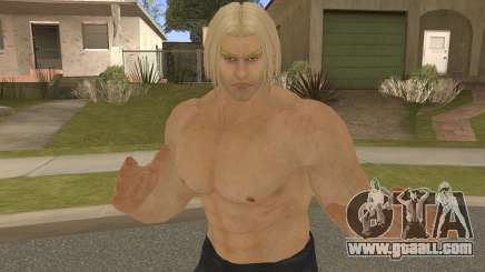 Paul Shortcut Hair with Vendetta Pants V5 for GTA San Andreas