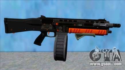 GTA V Vom Feuer Assault Shotgun Orange V5 for GTA San Andreas