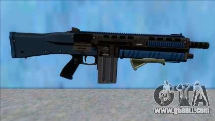 GTA V Vom Feuer Assault Shotgun LSPD V10 for GTA San Andreas