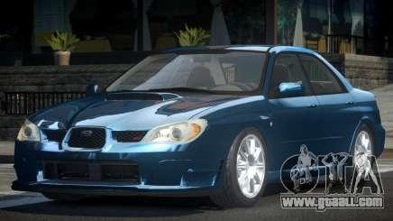 Subaru Impreza GST SN for GTA 4