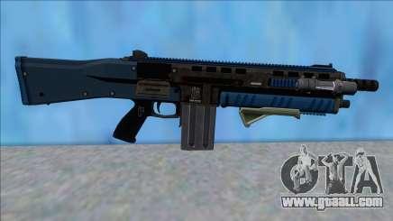 GTA V Vom Feuer Assault Shotgun LSPD V6 for GTA San Andreas