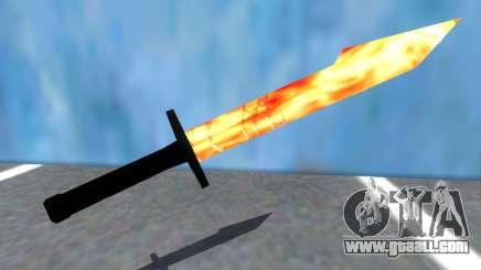 Taskmasters Sword V2 from Spider-Man PS4 for GTA San Andreas