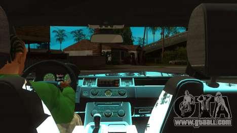 Sidhu Moosewala Range Rover Mod for GTA San Andreas