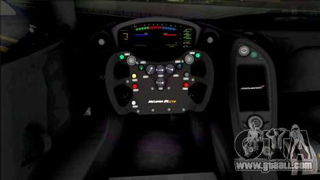 McLaren P1 GTR (SA Lights) for GTA San Andreas
