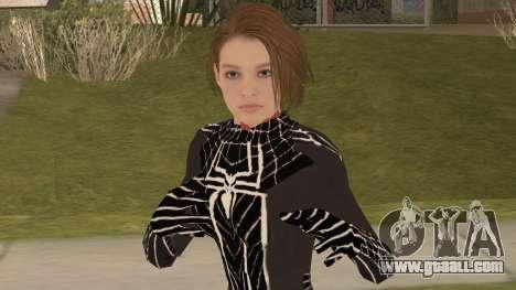 Black Spider Valentine for GTA San Andreas