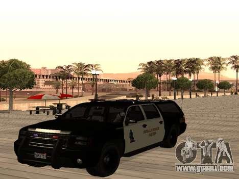MGCRP Police Car Mod for GTA San Andreas