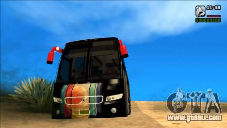 IPHONE 12 VOLVO BUS for GTA San Andreas
