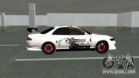 Toyota Mark ll Tuning for GTA San Andreas