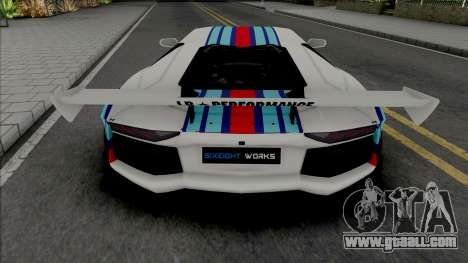 Lamborghini Aventador Limited Edition for GTA San Andreas