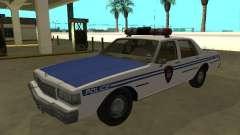 Chevrolet Caprice 1987 New York Transit Police for GTA San Andreas