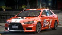 Mitsubishi Lancer X PSI-R L2 for GTA 4