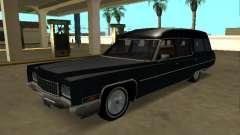Cadillac Fleetwood 1970 Hearse Pack for GTA San Andreas