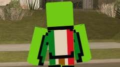 Mexican Dream Minecraft Skin for GTA San Andreas