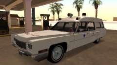 Cadillac Fleetwood 1970 Ambulance for GTA San Andreas