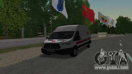 Ford Transit Ambulance Medical Aid for GTA San Andreas