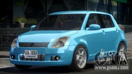 2009 Suzuki Swift for GTA 4