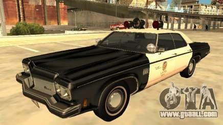 Oldsmobile Delta 88 1973 Los Angeles Police Dept for GTA San Andreas