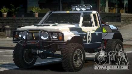 Nissan Patrol Off-Road L10 for GTA 4