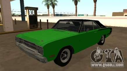 Dodge Charger RT Brazilian 1971 for GTA San Andreas