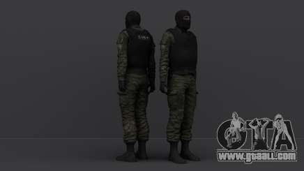 Masked SOBR for GTA San Andreas