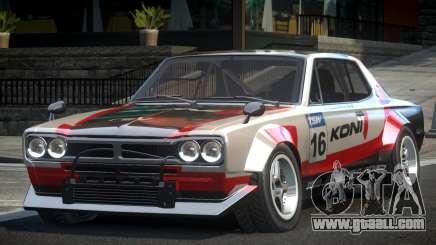 1977 Nissan Skyline KGC10 GT L5 for GTA 4